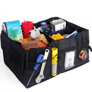 1PCS Automobiles Car Storage Box Trunk Bag Vehicle Tool Box Multi-use Tools Organizer Bag Folding Interior Accessories