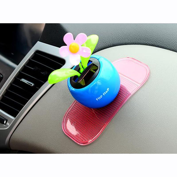 2016 16*8cm Direct Selling Real Car-styling Accessories Non-slip Car Phone Holder Magic Dashboard Sticky Pad Silicone Anti Slip