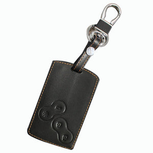 2016 Leather Car Key Covers Case For Renault Koleos Keychain Car Key Case Car Accessories