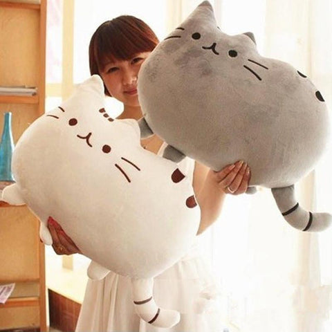 40*30cm Pusheen Cat Plush Toys Stuffed Animal Doll Animal Pillow Toy Pusheen Cat For Kid Kawaii Cute Cushion Brinquedos