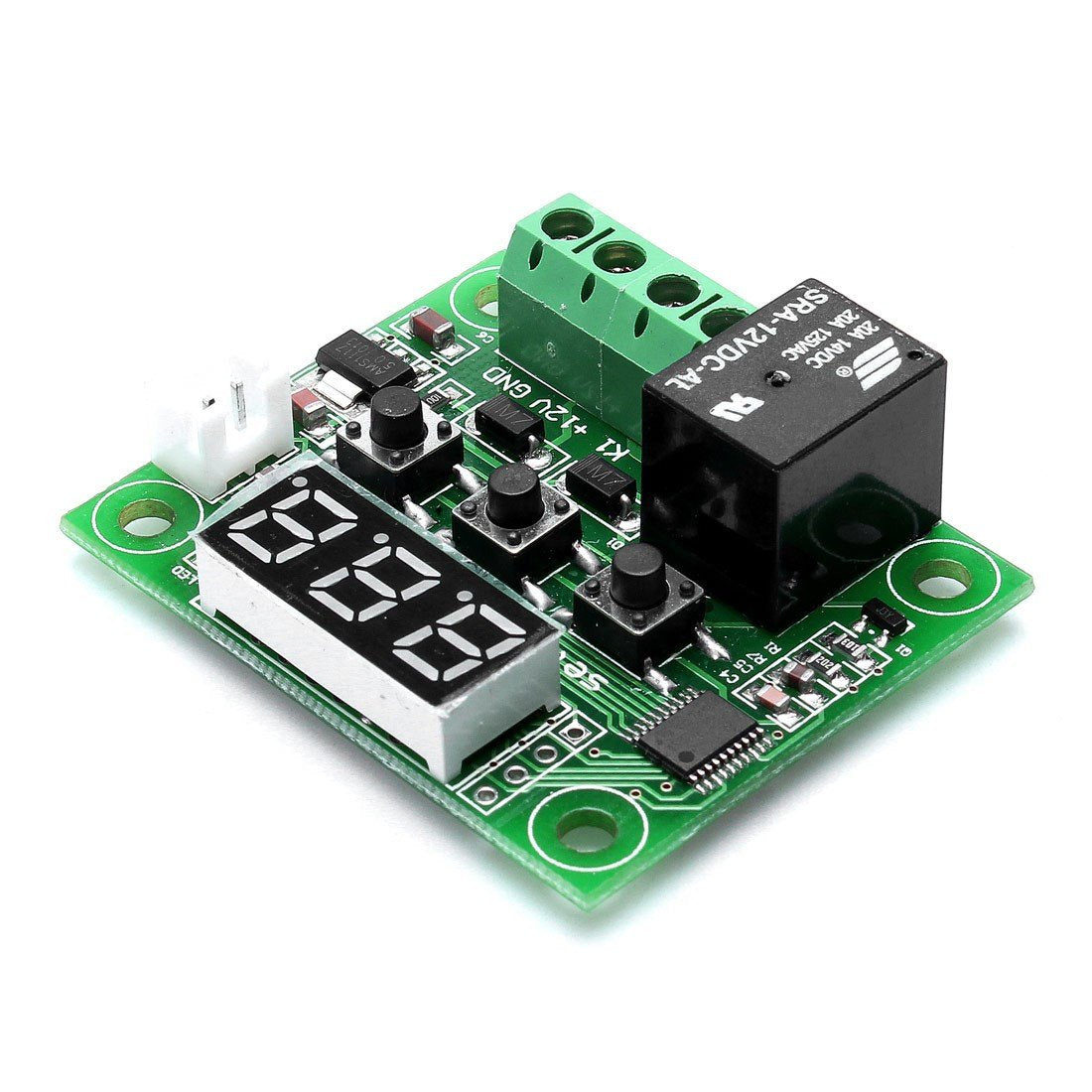 '-50~110C DC 12V Mini Thermostat Regulator Digital Temperature Controller for Incubator Temperature Control Switch Plate