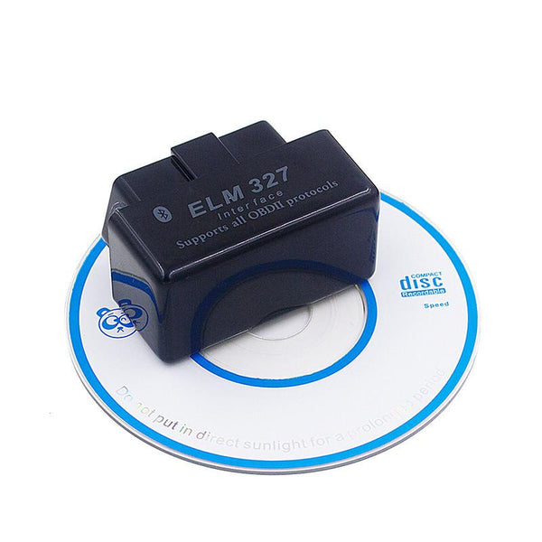 Super Mini Elm327 Bluetooth Obd2 Obdii Elm 327 V2.1 Car Diagnostic Tool Scanner Works On Android Symbian Windows