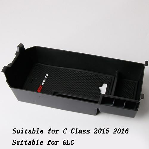 Car Styling Central Storage Box Armrest Remoulded Car Glove Storage Box For Mercedes Benz Gla Cla A C Class Glc Interior Refit