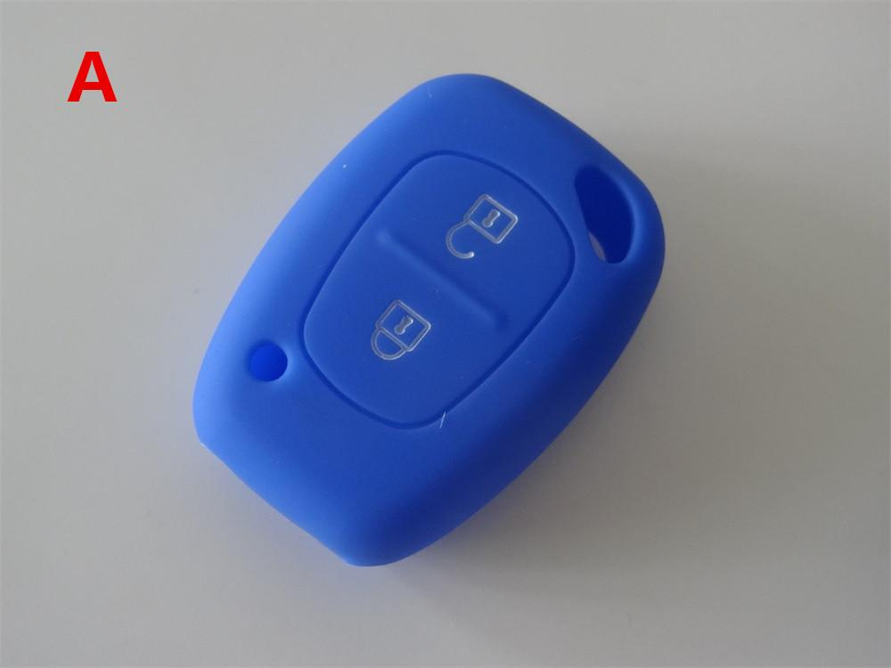 Silicone Car Key Cover Case Shell For Opel Vivaro Movano Renault Traffic Kangoo For Nissan