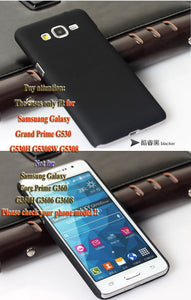 Plastic Phone Case For Samsung Galaxy Grand Prime G530 G530h G5308w G5308 Ultra Thin Slim Frosted Matte Back Cover Hood Hybrid