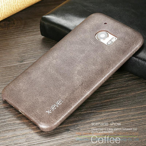 Ultra Thin Vintage Leather Case For Htc M10 Htc 10 Lifestyle Htc 10 Luxury Mobile Phone Soft Back Cover Cases For Htc One M10