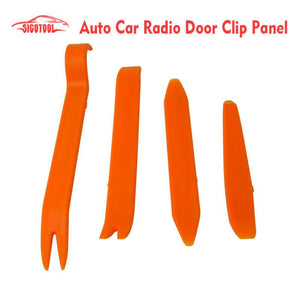 Auto Car Radio Panel Door Clip Panel Trim Dash Audio Removal Installer Pry Repair Tool set 4pcs
