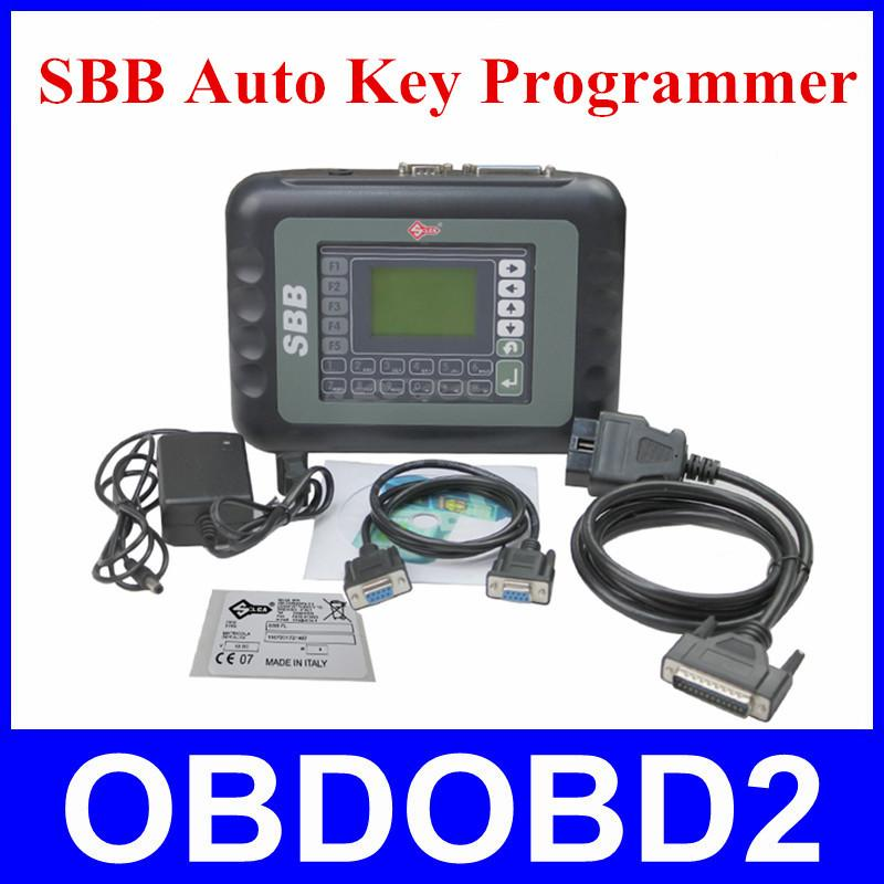 Auto Key Transponder SBB Programmer Silca Sbb V33.02 support Multi-Brands and Multi-languages SBB V33.2 Key Maker DHL