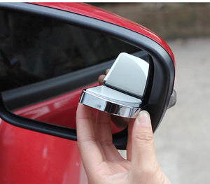 AUTOSON 1 Pair Universal 360 Degree Angle Rotation Adjustable Car Rearview Mirrors Blind Spot Rear View Mirror