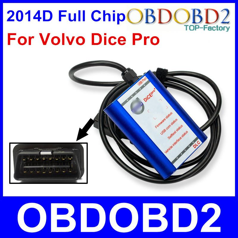 For VOLVO DICE PRO 2014D Full Chip Multi-Languages Firmware Update & Self-Test J2534 Protocol For Volvo Vida Dice