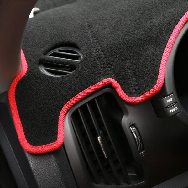 Car-Styling Car Dashboard Shade Carpet Protective Pad Interior For Kia Sportage R 2011 2012 2013 2014 2015 Accessories