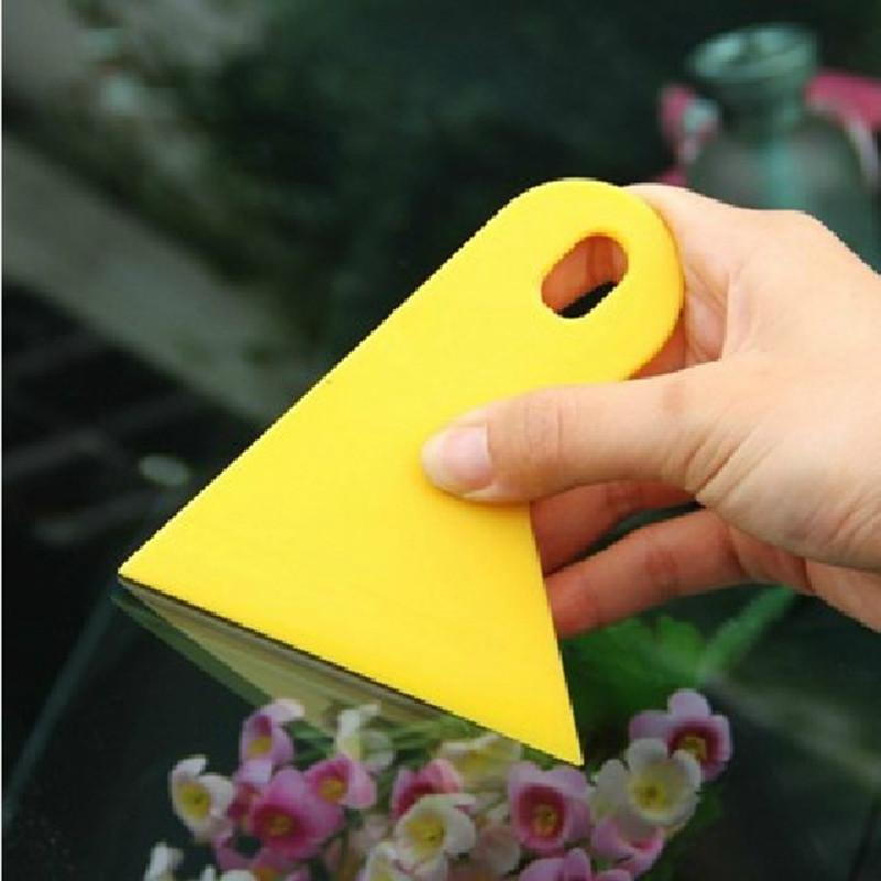 Carbon Fiber Vinyl film Wrapping Scraper Tools Bubble Window Wrapping Film Squeegee Scraper Car Styling Stickers Accessories