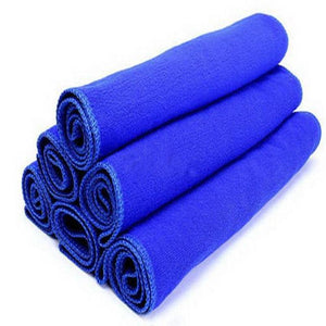 Cleaning Towel Car Styling 30*30cm Soft Microfiber Cleaning Towel Car Auto Wash Dry Clean Polish Cloth #2816