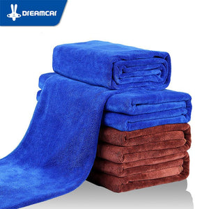 DREAMCAR 60x160cm Super Absorbent Towel Thicken Microfiber Suede Cloths Car Cleaning Towel Car Care Wash Beauty Supplies Tools