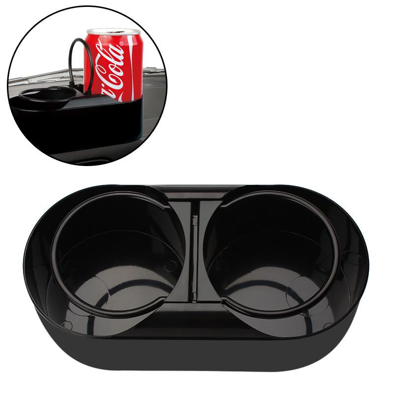 Dual Hole Drink Bottle Car Truck Mount Auto Accessories Cup Holder Stand Multifuntional Water Beverage Holder ABS Plastic