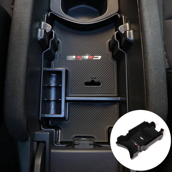 For Honda Civic Inner Center Console Insert Storage Box Tray 4dr Sedan 2016 2017 1pcs