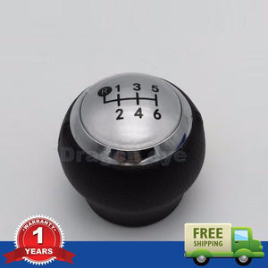 For Toyota RAV4 AVENSIS YARIS D4D URBAN CRUISER ALTIS SCION TC Car Shift Gear Knob 6 Speed Covered Leather