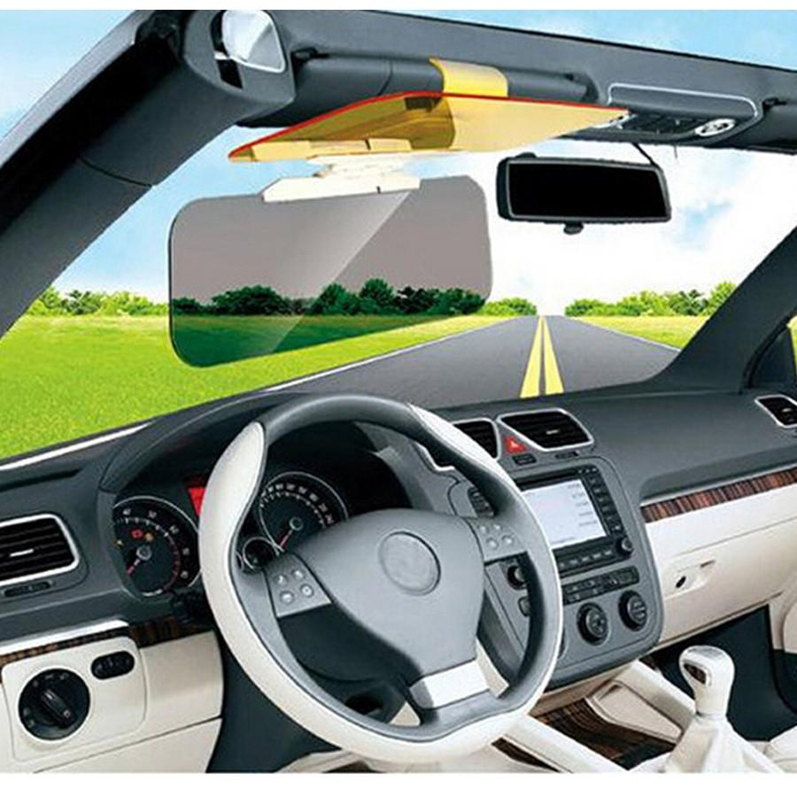 HD Car Sun Visor Auto Anti Dazzling Goggle Day Night Version Mirrors Vehicle Clear View Dazzling Glass Goggles -Not Glass