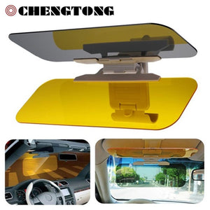 HD Car Sun Visor Goggles for Driver Day & Night Anti-dazzle Shine Mirror Clear View Dazzling Goggles Interior Accessories SU002