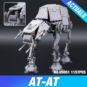 Lepin 05051 Star War Series Force Awaken The AT-AT Transpotation Armored Robot 75054 Building Blocks Bricks Educational Toys