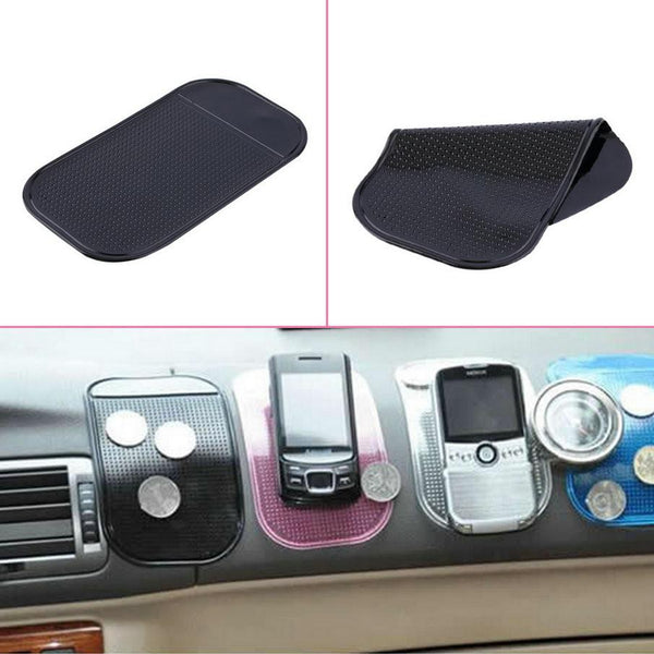 1 2 4pcs cute and easy to use 100% Anti Slip Super sticky suction Car Dashboard magic Sticky Pad Mat for Phone PDA mp3 mp4