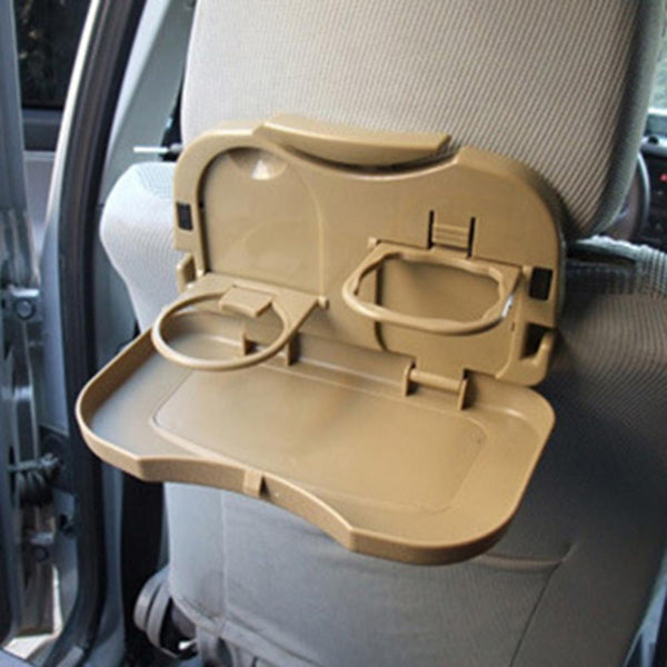 3 Colors Multifunction Car Back Seat Bottle Food Drink Cup Folding Tray Holder Useful