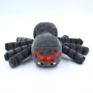 17cm Minecraft Plush Toys Minecraft Spider Stuffed Plush Toys Cute Minecraft Animal Plush Soft Toys Doll Kids