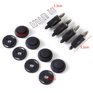 Black HDI Engine Cover Clip Bolt Bonnet Hood Clip Kit Metal 013711 Fit for Peugeot 307 406 607 Citroen Berlingo C4 C5 Xsara