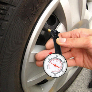 Car Motor Bike Dial Tire Air Pressure Gauge Meter High Precision Car Tyre Pressure Measurement for Car Diagnostic Tools