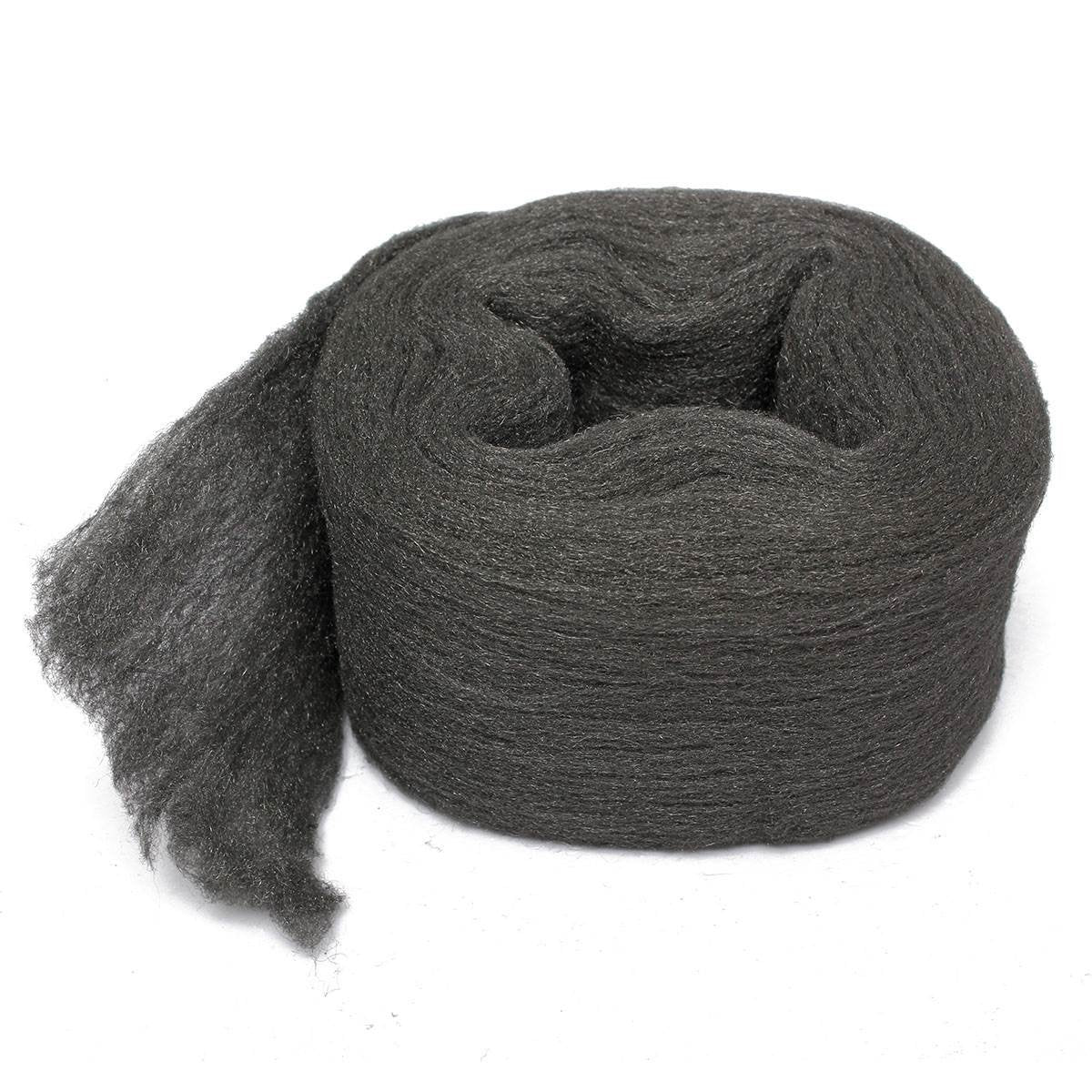 Steel Wire Wool Grade 0000 3.3 meter For Polishing Cleaning Removing Remover Non Crumble