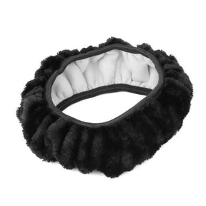 Warm plush winter car steering wheel cover imitation wool Universal auto supplies car accessories