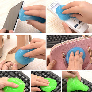 Universal Car Home Use Super Soft Sticky Dust Cleaning Gel Gum Computer Keyboard Cleaning Glue High Tech Cleaning Compound Gel
