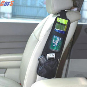 Waterproof fabric Car Auto Vehicle Seat Side Back Storage Pocket Backseat Hanging Bags back seat organizer
