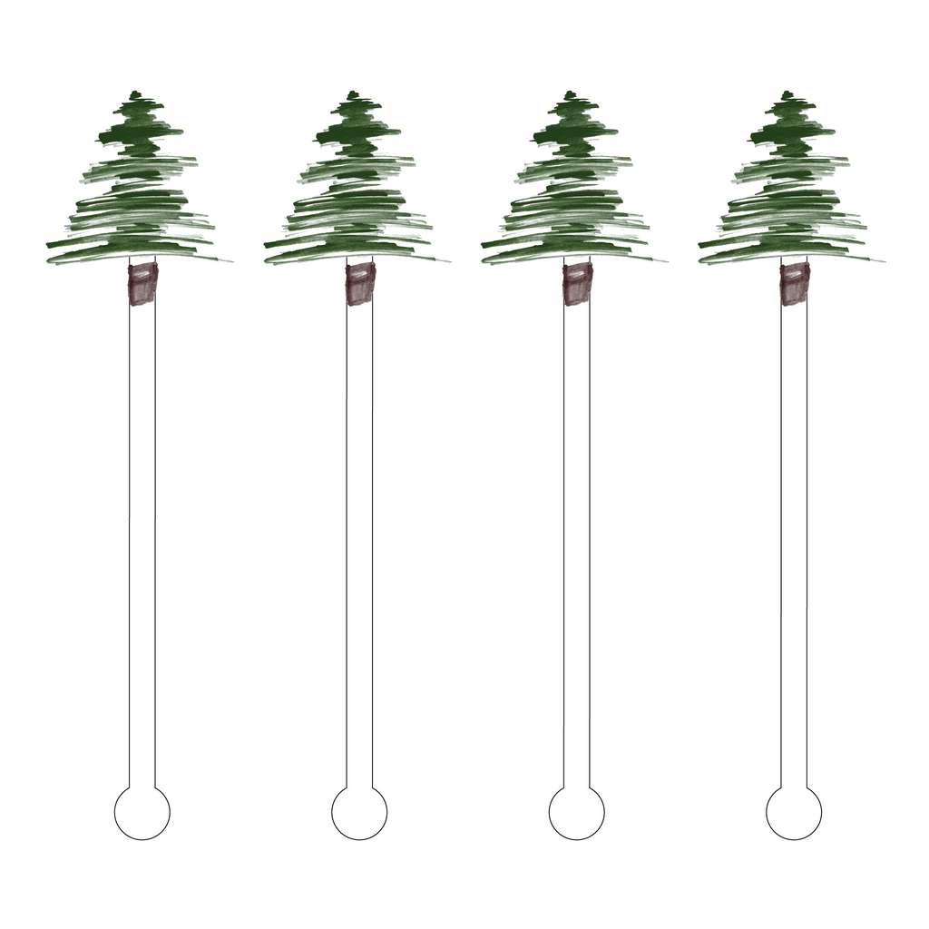 DOUGLAS FIR ACRYLIC STIR STICKS