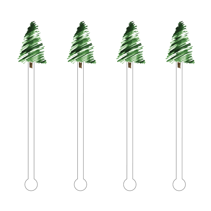 GRAND FIR ACRYLIC STIR STICKS