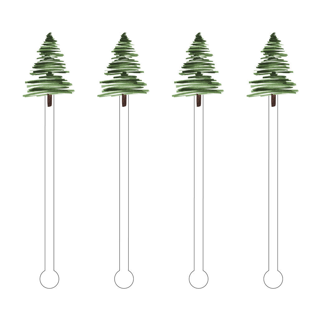 NOBLE FIR ACRYLIC STIR STICKS