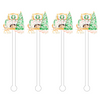 CHRISTMAS LIVING ACRYLIC STIR STICKS