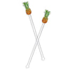 PINEAPPLE ACRYLIC STIR STICKS