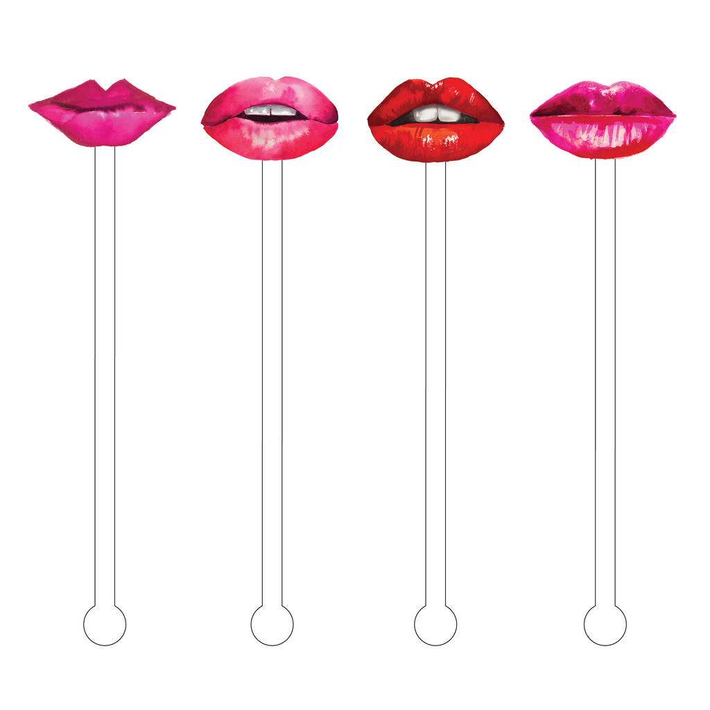LIPS COMBO ACRYLIC STIR STICKS