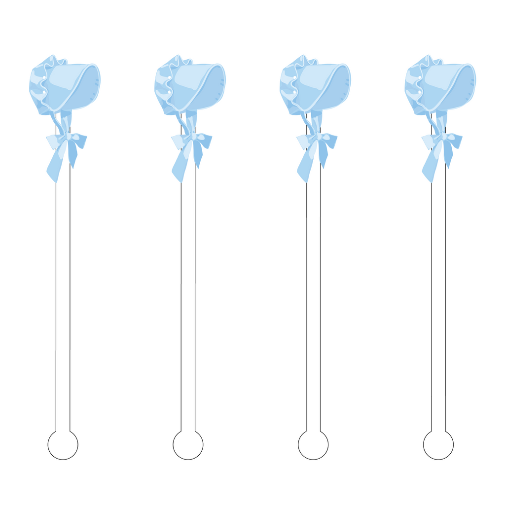 BLUE BONNET ACRYLIC STIR STICKS