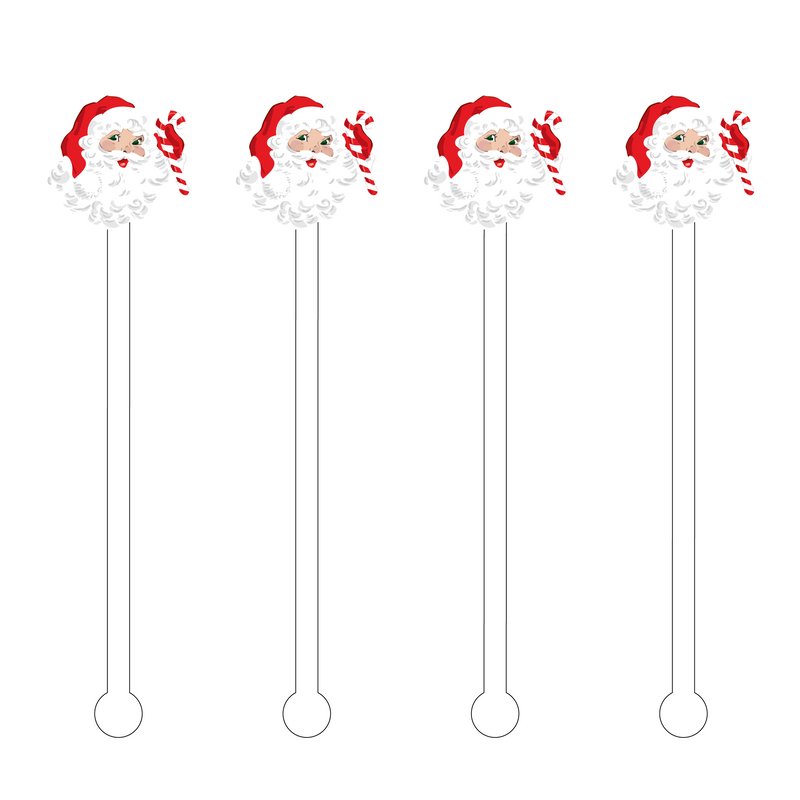 SAINT NICK ACRYLIC STIR STICKS