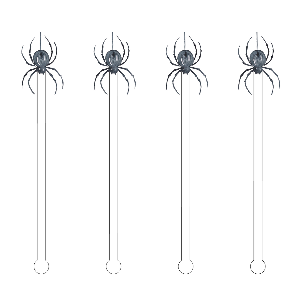SPIDER ACRYLIC STIR STICK