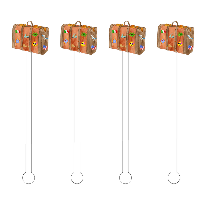 LUGGAGE ACRYLIC STIR STICKS
