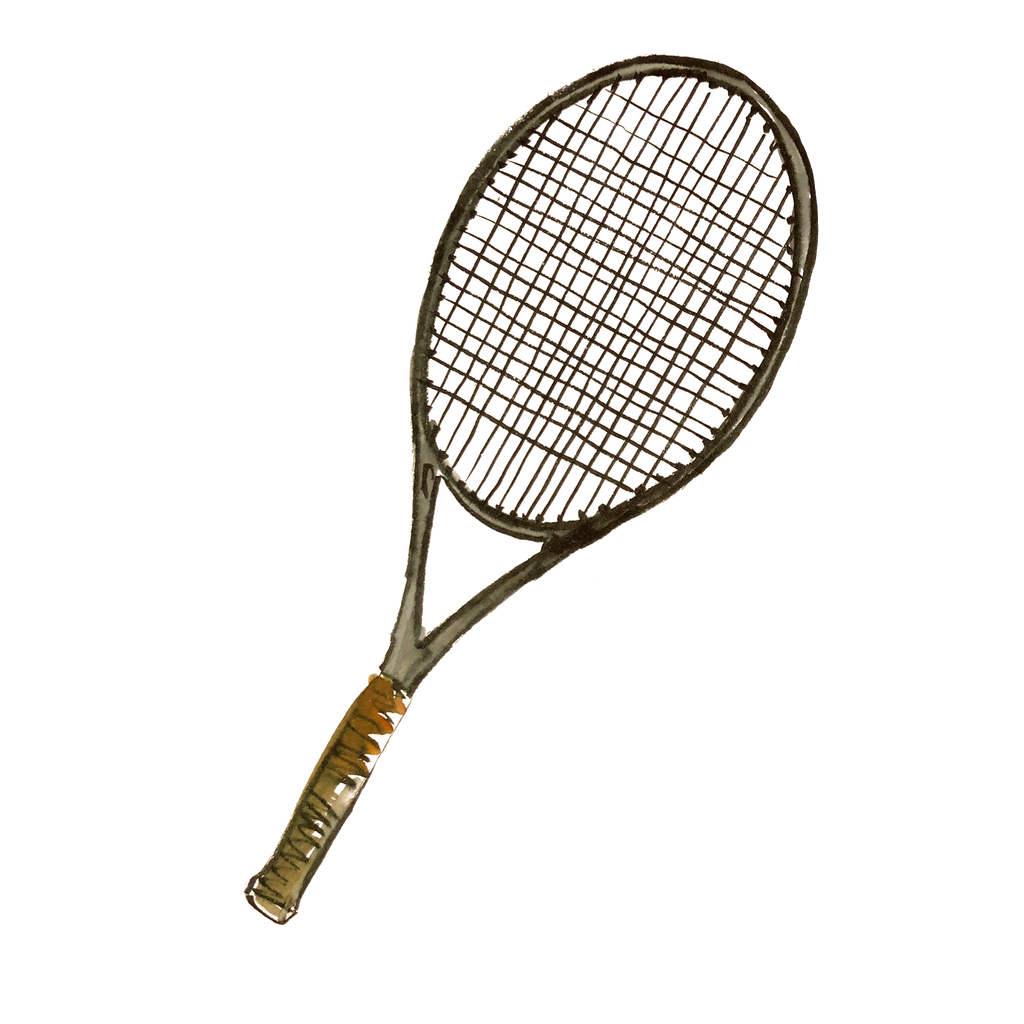 TENNIS RACKET DOWNLOADABLE ART