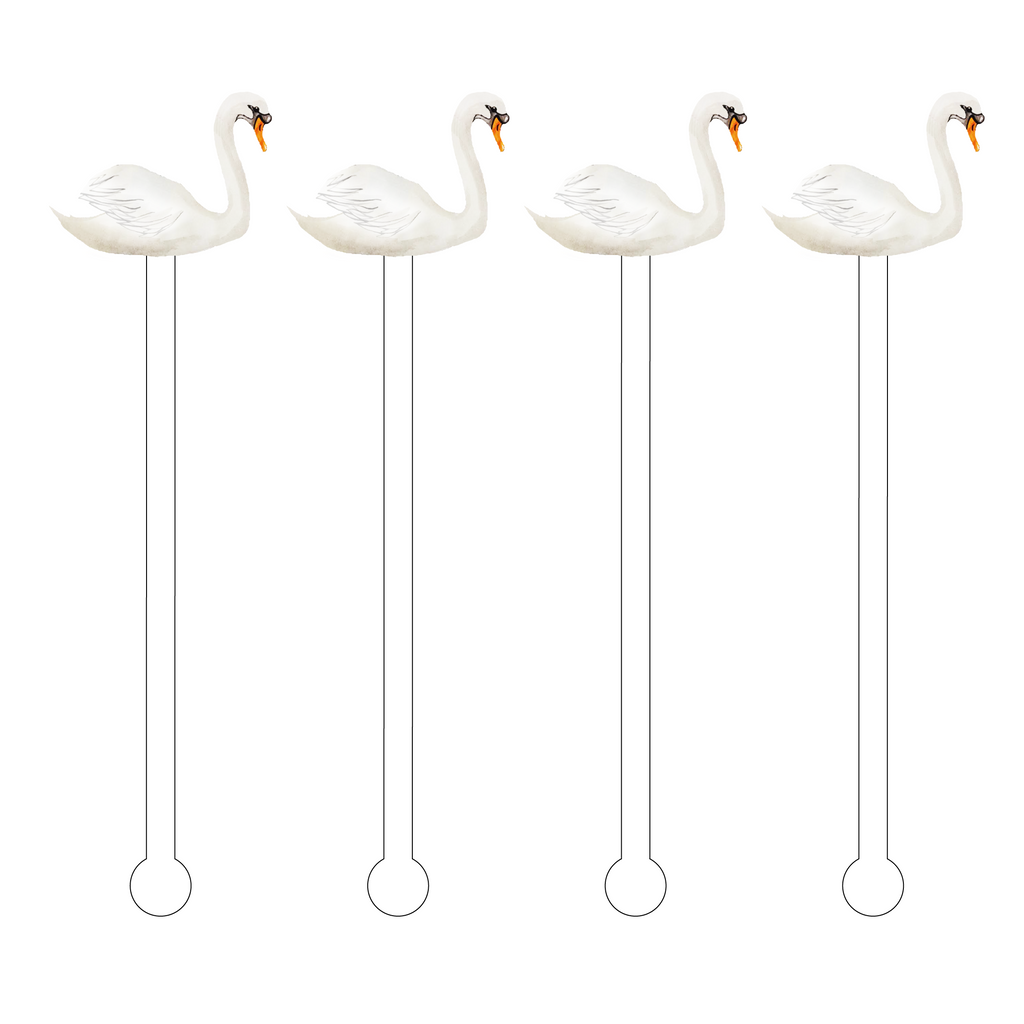 WHITE SWAN ACRYLIC STIR STICKS