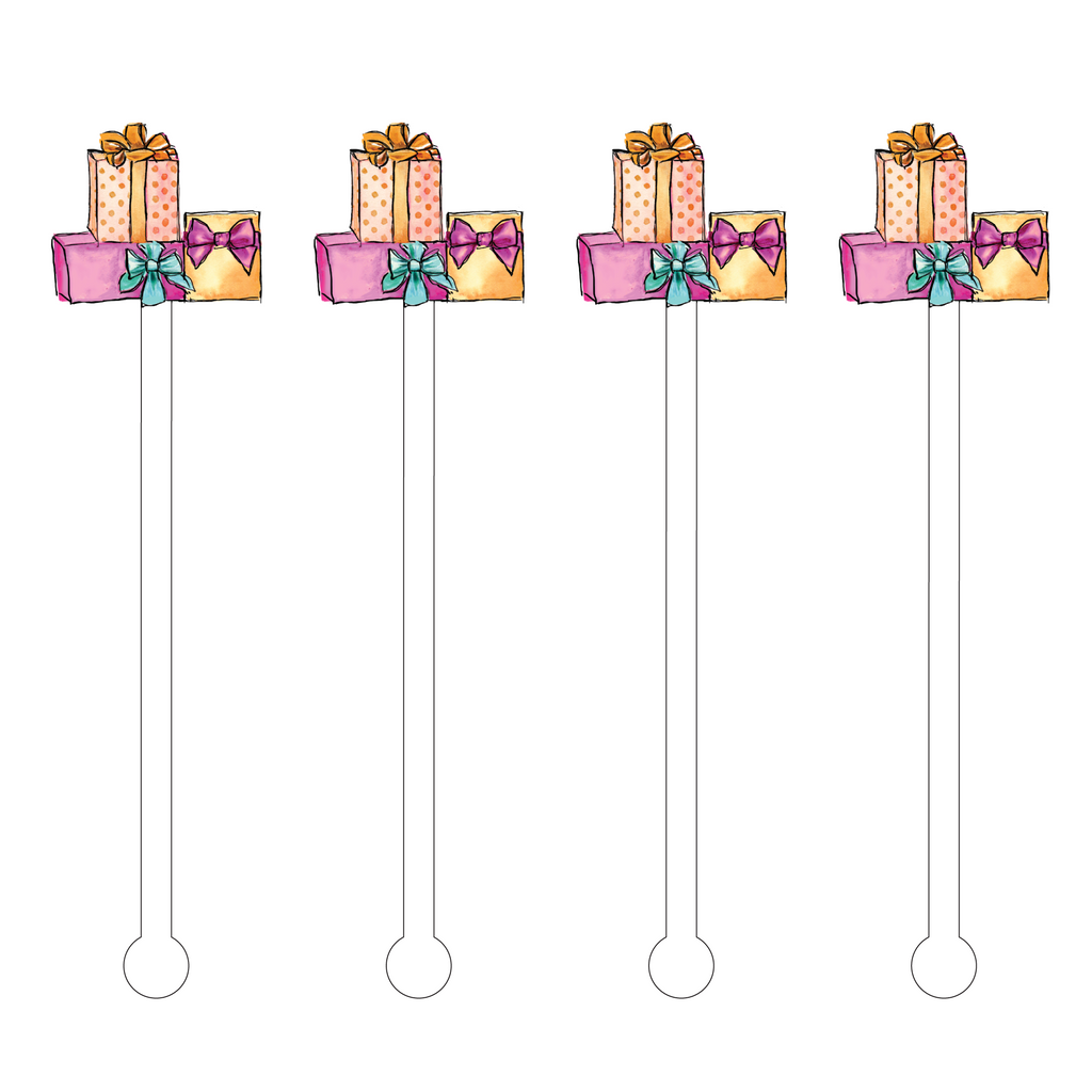 BIRTHDAY PRESENTS ACRYLIC STIR STICKS