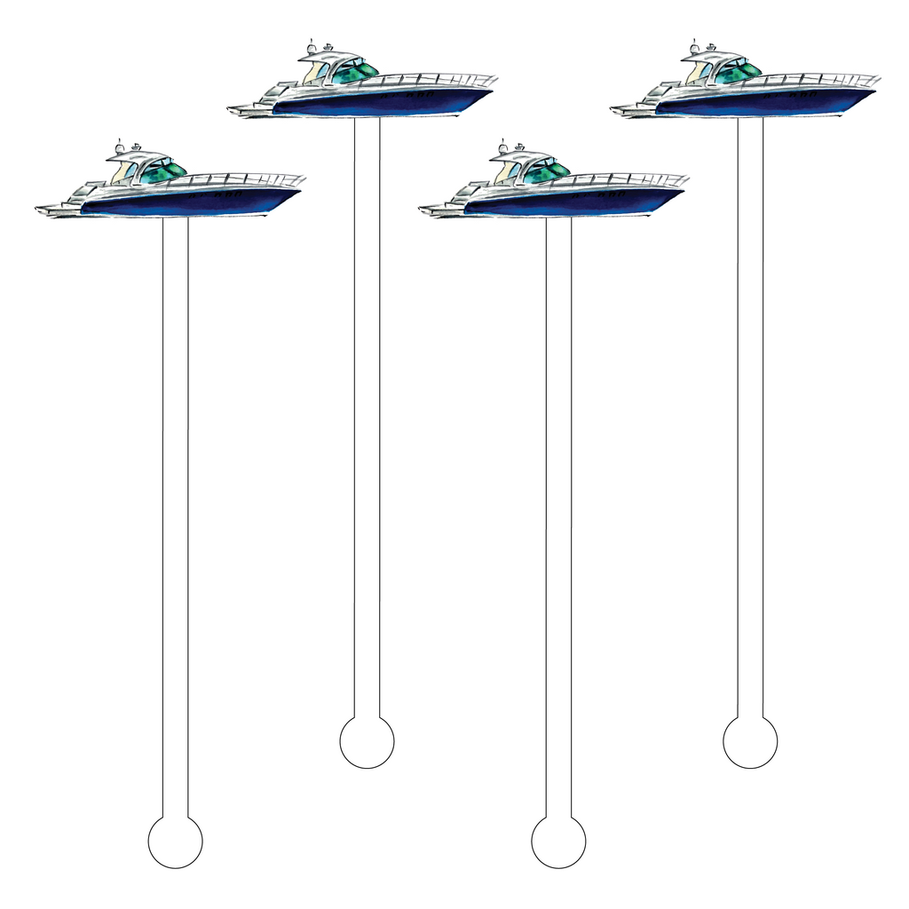YACHT ACRYLIC STIR STICKS