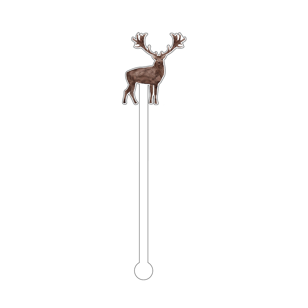 BUCK ACRYLIC STIR STICK