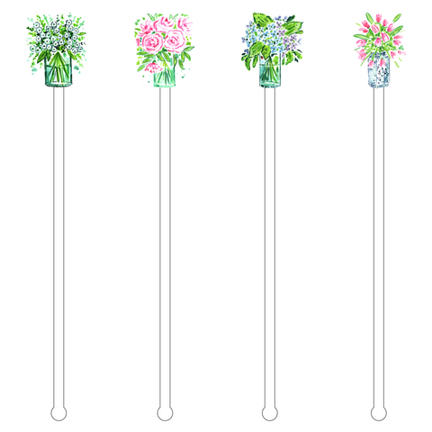 COLLARD GREENS ACRYLIC STIR STICKS