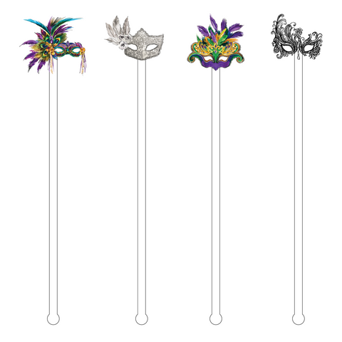 SOUTH CAROLINA SWALLOWTAIL BUTTERFLY ACRYLIC STIR STICKS
